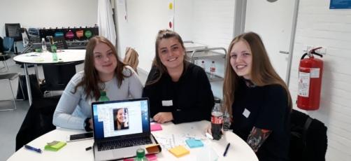 VR-workshop med SKP-elever