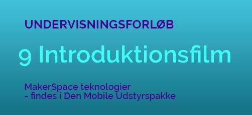9 teknologi introduktionsfilm til dig