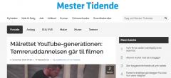 Mester Tidende om videnscenterprojekt: Tømreruddannelsen går til filmen