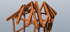 SketchUp: Tømrer kel & grat