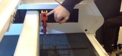 Kalibrering af laserskærer 1