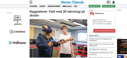 Overvældende omtale af videnscenterets tre 3D-Labs