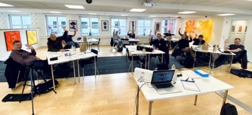 Undervisere fra hele Sjælland samlet til videokursus