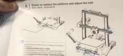 3D-print webinar video #5: Emneplade og bæltejustering på CR-6 SE