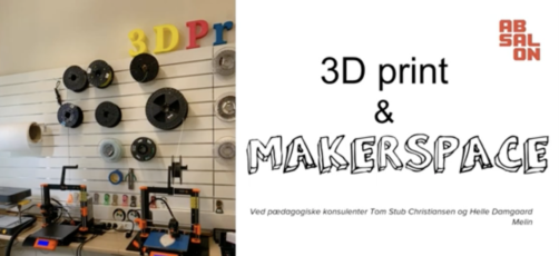 Det femte webinar om 3D-print ligger klar online