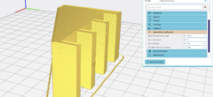 'Build Plate Adhesion' – introduktion til 3D slicer program (video 9 af 10)