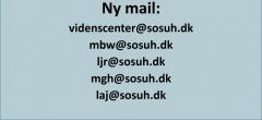 Ny mailadresse