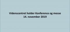 Konferenceprogrammet til den 14. november er opdateret