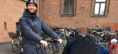 Videnscentret rykker ud på cykel