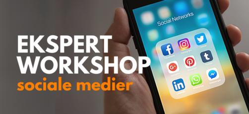 Ekspert workshop: Sociale medier