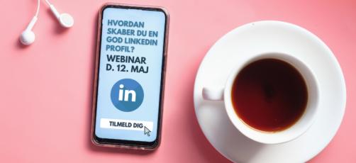 Webinar: Hvordan skaber du en god LinkedIn profil?
