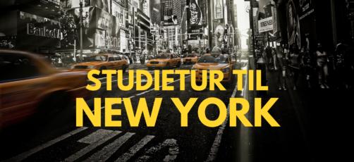 Studietur til New York