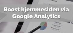 Google Analytics | Hovedforløb: Detail
