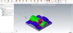 Cam fræsning 3D