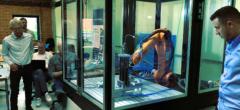 Opbygning af robotstand