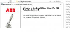 ABB Robot studio video 1 – Installer Robot studio
