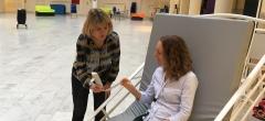 Simulering med ergonomi, velfærdsteknologi og kommunikation, EUX SSA