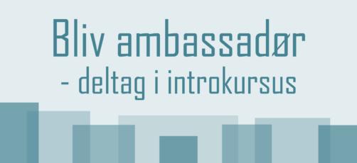 Introduktionskursus til Ambassadørkorps for alle SOSU-skoler