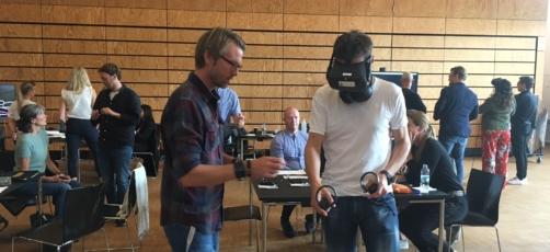 Spændende dag med VR i uddannelserne