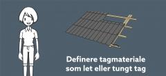 Tømrer GF2: Dimensionering af tagkonstruktion (læringsvideo 11)