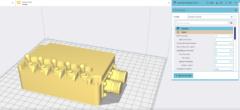 'Shell' – introduktion til 3D slicer program (video 2 af 10)