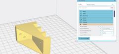 'Support' – introduktion til 3D slicer program (video 8 af 10)