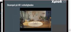 """AR video webinar – """"Hvad er AR?"""" ved XploR XR"""